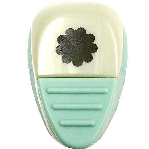 Kuretake KurePunch Detail Lever Paper Punch Small Size - Cookie Flower
