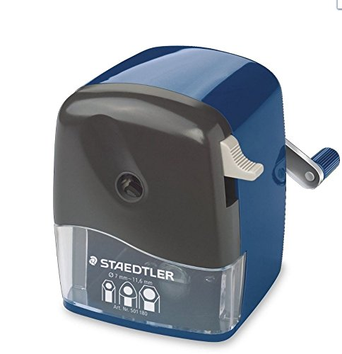 STAEDTLER Mars 501 180 Rotary sharpener for Round, Triangular, Hexagonal prisma color , pencils,