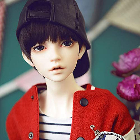 GHDE&MD BJD Boy Doll 1/3 Sport Style Jointed Doll BJD Full Set Makeup Accessories Birthday Gifts for Boys and Girls,Shallow