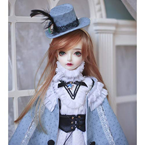 MEESock BJD Boy Doll 1/4 SD Dolls 16.7 inch 42.5CM Ball Jointed Dolls, with Full Set Clothes Shoes Wig Makeup, DIY Toy Birthday Gift for Girl