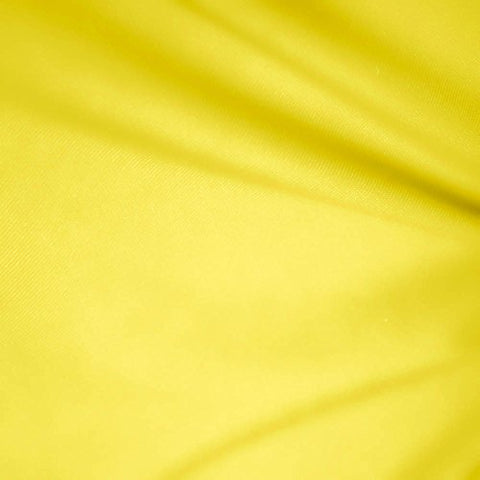 "1 X Yellow 60"" Wide Premium Cotton Blend Broadcloth Fabric By the Yard"