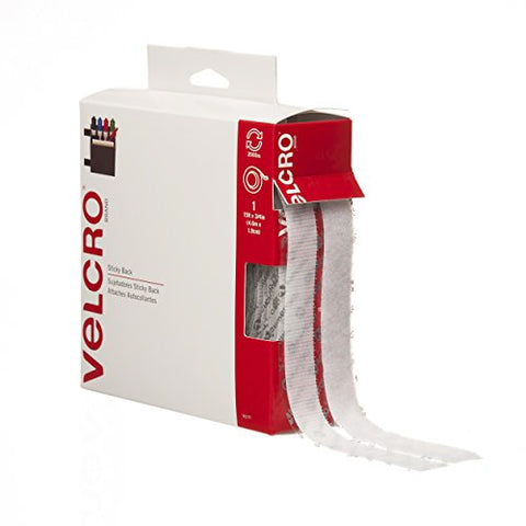 VELCRO Brand - Sticky Back Hook and Loop Fasteners| Perfect for Home or Office |  15ft x 3/4in Tape