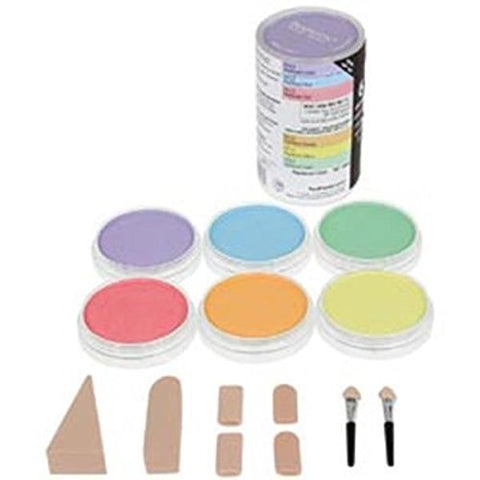 Colorfin PP30062 Pan Ultra Soft Artist Pastel Set 9ml 6 kg-Pearlescent by Colorfin