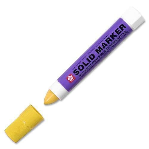XSC-3 Sakura of America Solid Paint Marker - 13 mm Marker Point Size - Yellow Ink - 1 Each
