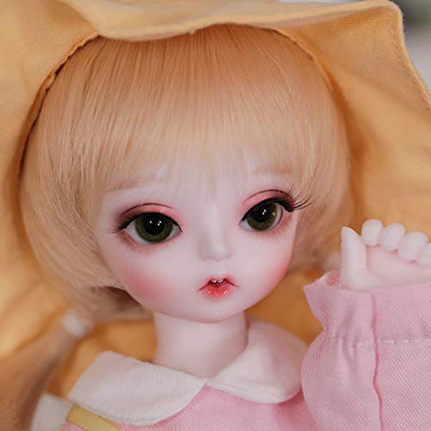 MEESock Lovely BJD Doll 1/6 SD Doll 26cm 10.2 Inch Movable Jointed Fashion Doll DIY Toys with Clothes Shoes Wig Makeup, Best Gift for Girls