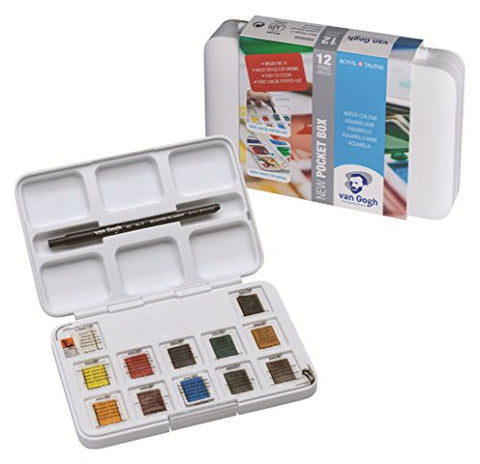 Van Gogh Royal Talens Rembrandt Soft Pastels Portrait Set, Set of 12 Colors