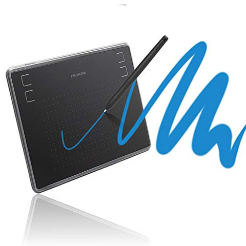 Huion Inspiroy H430P Tablet Graphics Drawing Tablet Battery-Free Stylus with 4096 Levels and 4