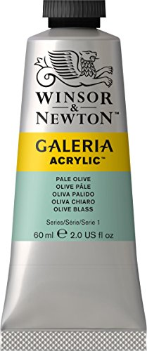 Galeria Acrylic Paint 60ml/Tube-Pale Olive