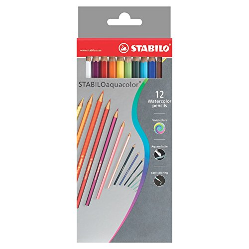Stabilo Watercolour Pencils set of 12
