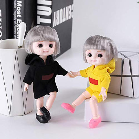 Angelhood 1/6 BJD Doll(Movable Joint)- Cute Doll Realistic Dolls for Girls,Little Dolls with Dolls Clothes,Customized Dress DIY Dolls.