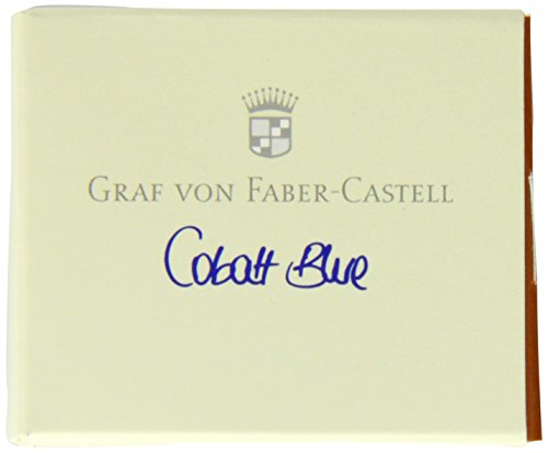 Graf von Faber-Castell Ink Cartridges, Box of 6, Cobalt Blue (FC141101)