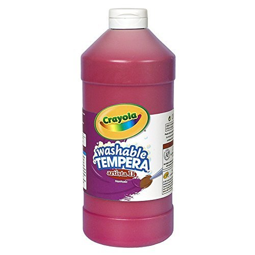CRAYOLA LLC ARTISTA II TEMPERA 32 OZ RED (Set of 3)