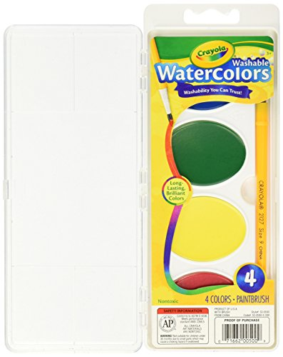 Crayola 4 Ct. Pan So Big Washable Watercolors
