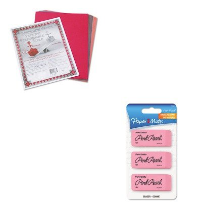 KITPAC103637PAP70502 - Value Kit - Paper Mate Pink Pearl Eraser (PAP70502) and Pacon Riverside