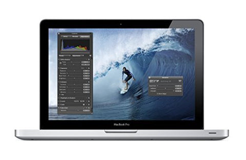 Apple MacBook Pro MD313LL/A 13.3-Inch Laptop (OLD VERSION) (Certified Refurbished).