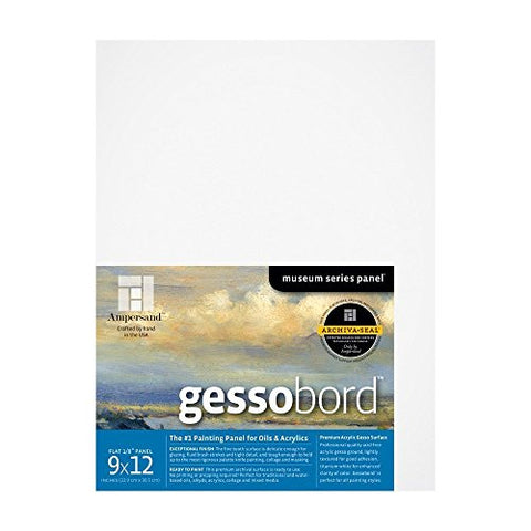 Ampersand Gessobord 9 in. x 12 in. 1/8 in. each