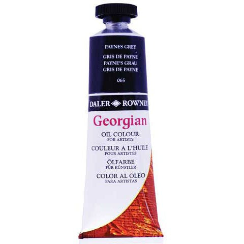 Daler-Rowney Georgian Oil Colors, 38ml, French Ultramarine (111014123)