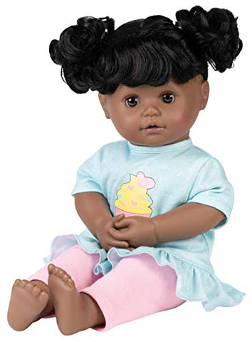 "Adora My Cuddle & Coo Baby ""Cuppy Cake"" - Touch Activated Doll with 5 Sounds: She Cries, Coos, Giggles, Kisses Back & Says Momma"