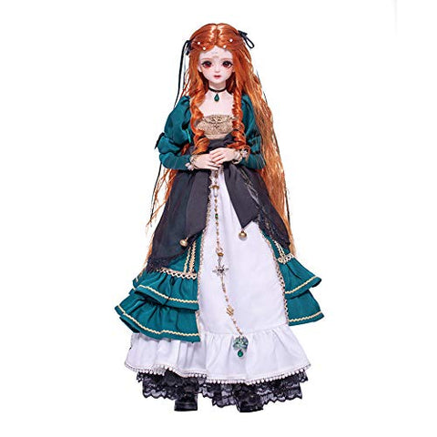 BTSSA 1/4 SD Smart Doll BJD Doll Fashion Customized Doll with Clothes Outfit Shoes Wig Hair Makeup Birthday Gifts