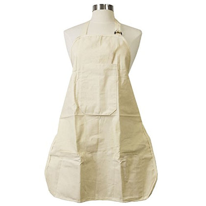 "US Art Supply Large Canvas Adjustable Artist Apron - Size: 27"" x 21"""