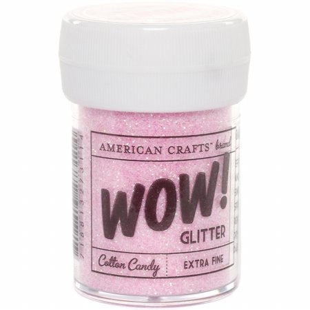 Wow! Extra Fine Glitter 1oz-Cotton Candy