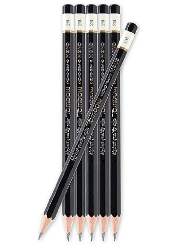 Tombow Mono Professional Drawing Pencils 2H each [PACK OF 24 ]