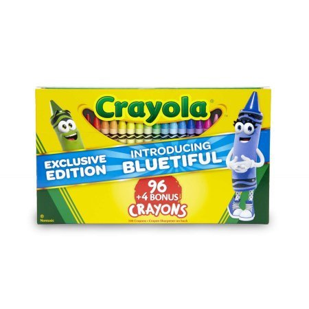 New Crayola Color Bluetiful 100 ct. Crayon Box, Gift for Kids & Adults