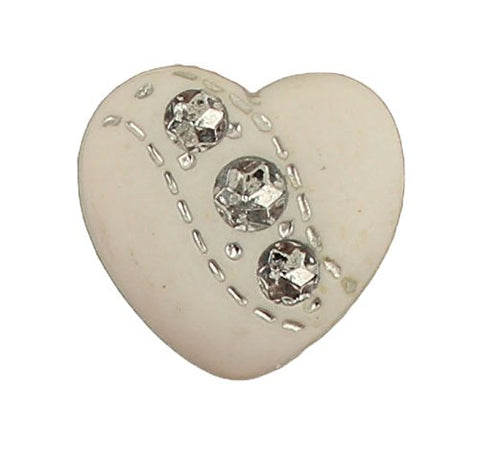 WEDDING HEART - 100 BUTTONS
