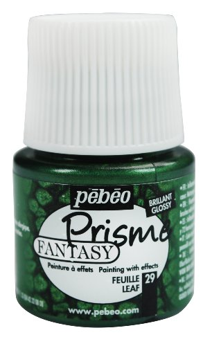 Pebeo 166029CAN Fantasy Prisme Paint 45ml, Leaf