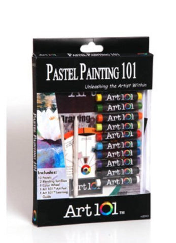Pastel Drawing 101 by Art101USA