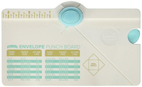 We R Memory Keepers 660541 Mini Envelope Punch Board