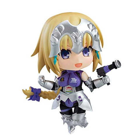 "CSH-Video Game Fate/Grand Order: Joan of Arc Jeanne d'Arc (Alter) Racing Figure Model Collectible Nendoroid Figma Toy 3.9"" H"