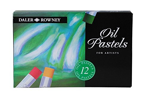 Daler Rowney Oil Pastel Set (12 Pieces) by Daler Rowney