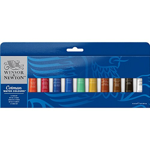 Winsor & Newton Cotman Water Color 12-Tube Set