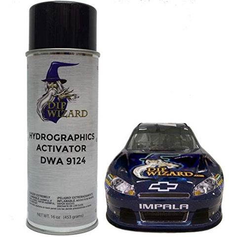 Hydrographic Film Activator Dip Wizard Hydrovator Super Sized 16 Oz Aerosol Spray Can Hydrographic Water Transfer Film Activator Hydro Dip Dipping