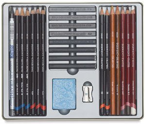 artsy sister,pencil set,drawing kit