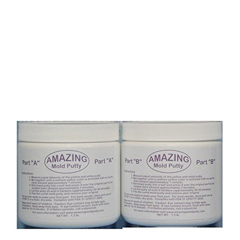 Alumilite Amazing Mold Putty 3 Lb