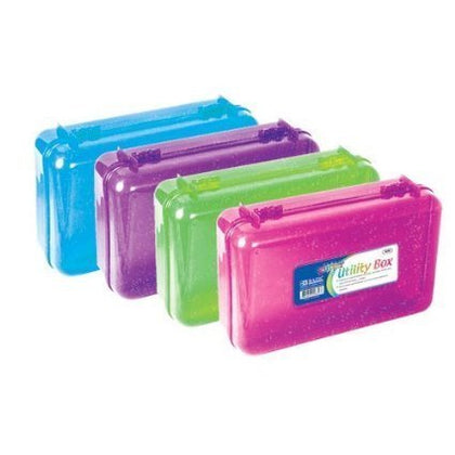 Glitter Bright Color Multipurpose Utility Box(Bazic)
