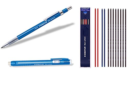 Staedtler Mars Writing Supplies Set composed by Withjenny - Lead Holder(780C), Stick