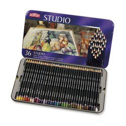 Derwent Studio Professional Colored Pencils - Set of 36