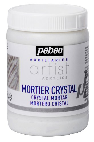 Artist Acrylics Auxiliaries Crystal Mortar, 250-Milliliter