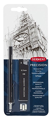 Derwent Mechanical Pencils 0.7, Precision, HB (2302429)