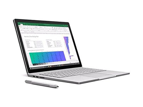 Microsoft 4992857 Surfacebook Detachable, INTEL:I7-6600U/CI7, 2.6 GHz, 256 GB,