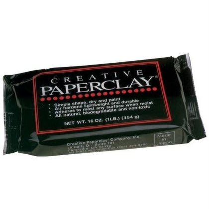Paperclay Modelling Clay White) (450 g by Glorex GmbH