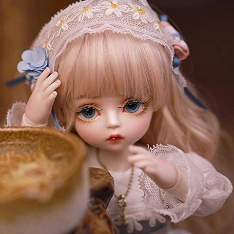 Original Design 1/6 BJD Doll 30Cm Ball Jointed SD Dolls Full Set DIY Toys Surprise Gift Doll with All Clothes Shoes Wig Hair Makeup Accessories
