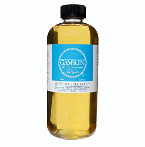 Gamblin Solvent-Free Fluid Medium 16.9 oz Bottle