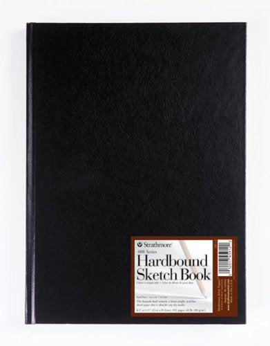 "Strathmore 400 Series Hardbound Sketch Journal, 11"" x 14"" 192 Pages"