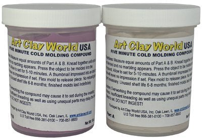 Two-Part Silicone Molding Compound (2 x 10oz jars)