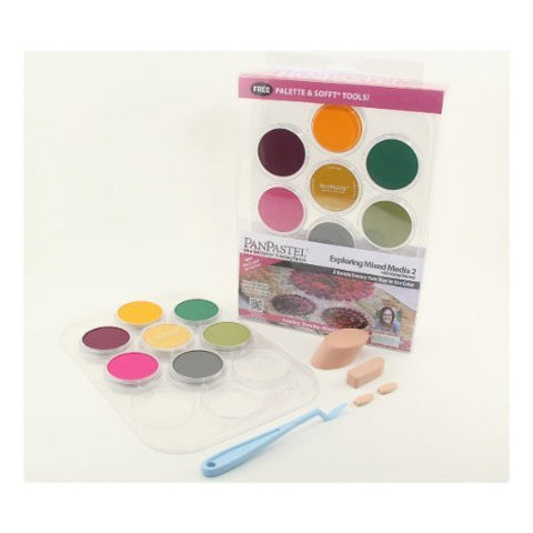 Panpastel 7 Color Mixed Media #2 Set by Colorfin
