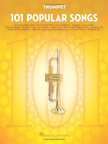 101 Popular Songs: for Trumpet